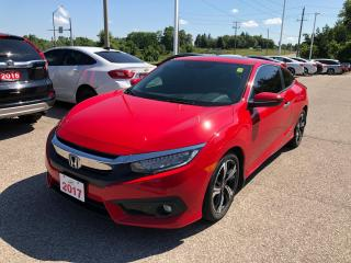 Used 2017 Honda Civic Touring TWO DOOR COUPE | APPLE CARPLAY™ & ANDROID AUTO™ | POWER SUNROOF for sale in Cambridge, ON