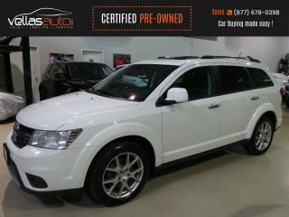 Used 2015 Dodge Journey R/T AWD  7PASS  LTHR  ROOF for sale in Vaughan, ON