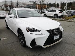 Used 2020 Lexus IS 350 for sale in Port Moody, BC