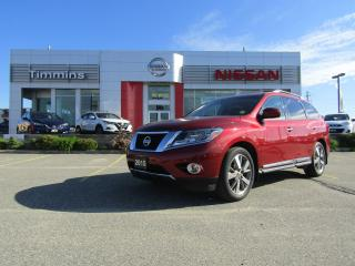 Used 2015 Nissan Pathfinder Platinum for sale in Timmins, ON