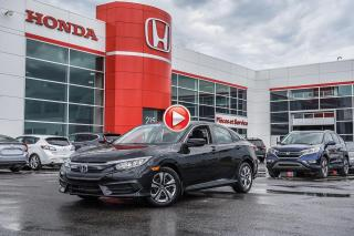 Used 2018 Honda Civic GARANTIE LALLIER MOTO-PROPULSEUR 10ANS/200,000 KIL P5064  NOIR for sale in Terrebonne, QC