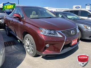Used 2015 Lexus RX 350 NAVIGATION / SUNROOF / LEATHER for sale in Kitchener, ON