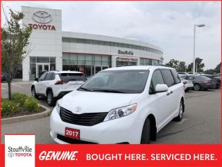 Used 2017 Toyota Sienna 7 Passenger 7-PASSENGER - LOW KMs - BACKUP CAMERA for sale in Stouffville, ON