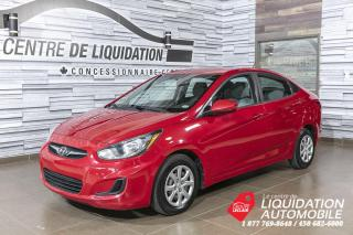 Used 2012 Hyundai Accent GL+GR/ELEC+A/C for sale in Laval, QC