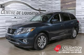 Used 2016 Nissan Pathfinder SL+AWD+MAGS+CUIR+NAV+CAMERA+toit for sale in Laval, QC