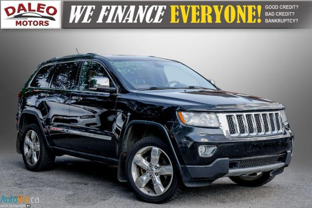 2012 Jeep Grand Cherokee OVERLAND | RAN ROOF | LEATHER | NAVI  COOLED SEATS