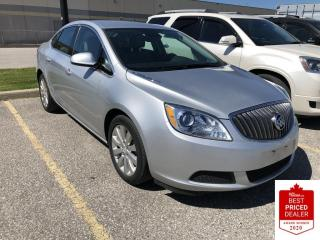 Used 2016 Buick Verano ALLOYS REAR CAMERA REMOTE START OFF LEASE LOW KM for sale in Orillia, ON