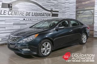 Used 2013 Hyundai Sonata Limited+MAGS+NAV+CAM/REC+TOIT+BLUETOOTH for sale in Laval, QC