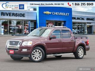 Used 2007 Ford Explorer Sport Trac LIMITED for sale in Brockville, ON