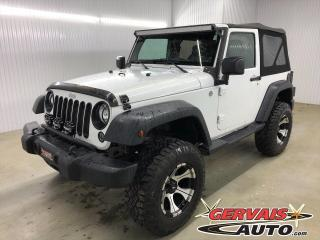 Used 2014 Jeep Wrangler Sport 4x4 MAGS *Unique à voir* for sale in Shawinigan, QC