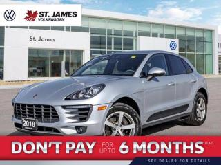 Used 2018 Porsche Macan Clean Carfax, Push to Start, Backup Camera for sale in Winnipeg, MB