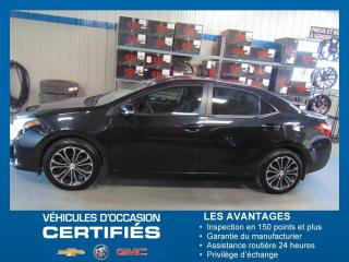 Used 2016 Toyota Corolla CE for sale in Amos, QC