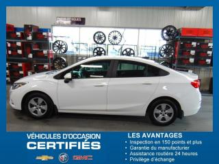 Used 2016 Chevrolet Cruze LS for sale in Amos, QC