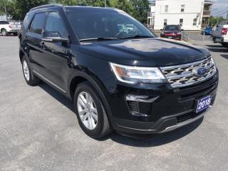 Used 2018 Ford Explorer XLT Backup Camera, Sync bluetooth connect for sale in Cornwall, ON
