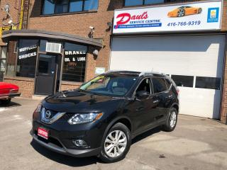 Used 2016 Nissan Rogue AWD-NAVI-SUNROOF-BLUETOOTH- REAR CAMERA*CERTIFIED* for sale in York, ON