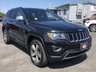 Used 2015 Jeep Grand Cherokee Limited*NAV*BACKUP CAM*SUNROOF for sale in London, ON