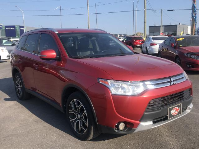 2015 Mitsubishi Outlander GT*7PASS*AWD*NAV*HEATED SEATS