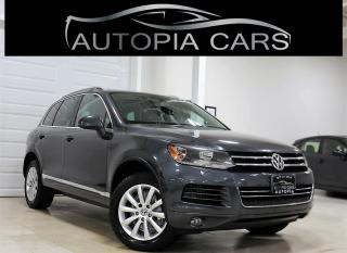 Used 2012 Volkswagen Touareg TDI COMFORTLINE NAVIGATION PANORAMIC SUNROOF for sale in North York, ON