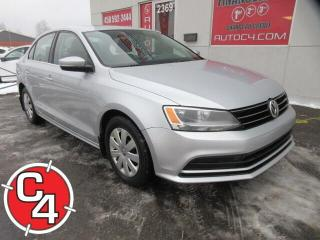 Used 2015 Volkswagen Jetta TOIT TSI A/C COMFORTLINE for sale in St-Jérôme, QC
