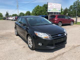 Used 2012 Ford Focus SEL for sale in Komoka, ON