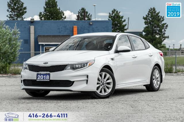 2018 Kia Optima LX- Heated seats+steering-Clean Carfax-Rev Camera