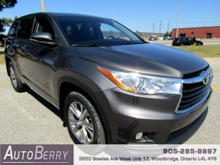 Used 2016 Toyota Highlander LE - 3.5L - FWD - 8 Passenger for sale in Woodbridge, ON