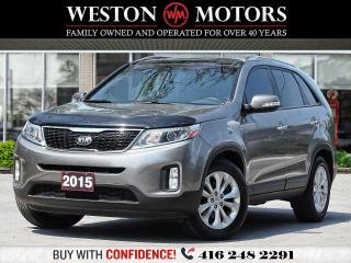 Used 2015 Kia Sorento V6*AWD*PANAM SUNROOF*REV CAM*HEATED SEATS!!* for sale in Toronto, ON