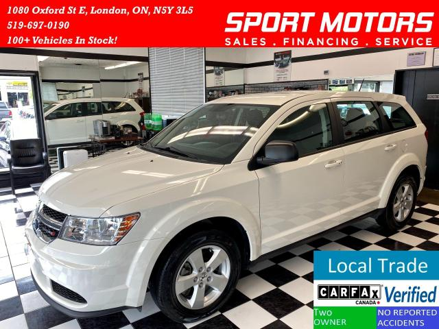 2014 Dodge Journey Keyless Entry+Bluetooth+A/C+NewTires+Accident Free