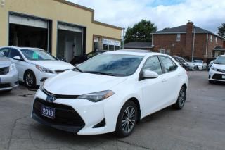 Used 2018 Toyota Corolla LE Sunroof Alloy for sale in Brampton, ON
