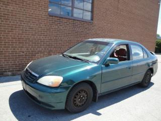Used 2001 Honda Civic LX-G for sale in Oakville, ON