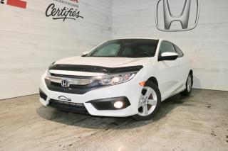 Used 2018 Honda Civic EX-T 2 Portes avec Honda Sensing for sale in Blainville, QC