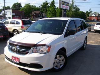 Used 2013 Dodge Grand Caravan SXT,DVD PLAYER,CERTIFIED,TINTED,A/C,BUG DEFLECTOR for sale in Kitchener, ON
