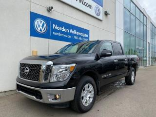 Used 2018 Nissan Titan SV 4x4 Crew Cab 139.8 in. WB for sale in Edmonton, AB