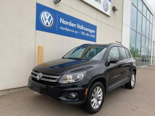 Used 2017 Volkswagen Tiguan WOLFSBURG EDITION 4MOTION AWD - LEATHER / HEATED SEATS for sale in Edmonton, AB