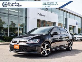 Used 2016 Volkswagen Golf GTI AUTOBAHN LOADED!! DSG!! for sale in Pickering, ON