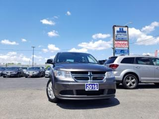 Used 2016 Dodge Journey SE  AIR CONDITION NO ACCIDENTS CLEAN CARFAX for sale in Brampton, ON