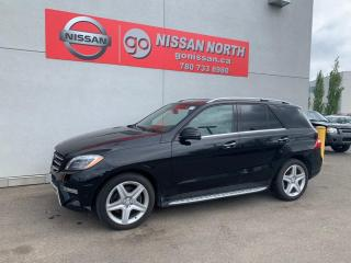 Used 2014 Mercedes-Benz ML-Class ML 350 BlueTEC 4dr AWD 4MATIC for sale in Edmonton, AB