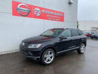 Used 2017 Volkswagen Touareg Execline 4dr AWD 4MOTION for sale in Edmonton, AB