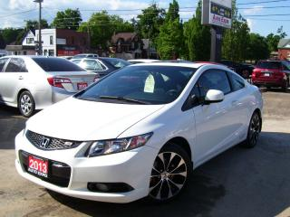 Used 2013 Honda Civic Si,Bluetooth,Navi,Sunroof,Fog lights,6 speed,AUX for sale in Kitchener, ON