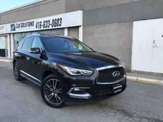 Used 2016 Infiniti QX60 TECH-NAVI-DVD-SUNROOF for sale in Toronto, ON