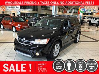 Used 2015 Dodge Journey R/T AWD - Local / DvD / 7 Pass / Sunroof for sale in Richmond, BC