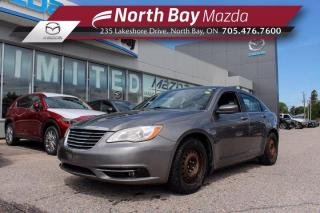 Used 2012 Chrysler 200 Touring Self Certify - Click Here! Test Drive Appts Available! for sale in North Bay, ON