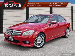 Used 2009 Mercedes-Benz C-Class 2.5L 4MATIC Clean Car! for sale in Scarborough, ON
