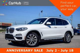 Used 2019 BMW X3 xDrive30i.Navi.Pano Sunroof.Bluetooth.Backup Cam.Leather.Heated Front Seats.19