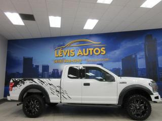 Used 2018 Ford F-150 XLT 4X4 V-8 5.0 L BLUETOOTH CAMERA DE RE for sale in Lévis, QC