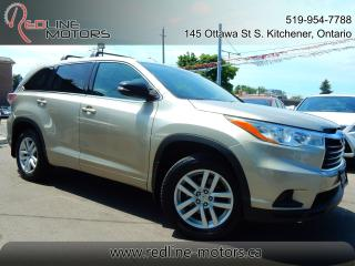 Used 2014 Toyota Highlander LE AWD.ReverseCamera.8Passenger.AccidentFree for sale in Kitchener, ON