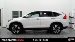 Used 2016 Honda CR-V TOURING + AWD + HONDA SENSING + GPS ! for sale in Trois-Rivières, QC