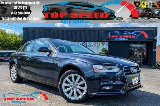 Used 2013 Audi A4 PREMIUM / BLUETOOTH / KEYLESS / MANUAL/LOADED for sale in Richmond Hill, ON