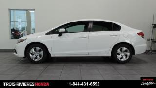 Used 2015 Honda Civic LX + MAN + CAMERA RECUL + BLUETOOTH for sale in Trois-Rivières, QC