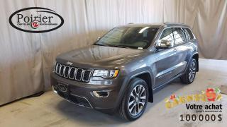 Used 2018 Jeep Grand Cherokee Limited VUS le plus primé de tous les temps for sale in Rouyn-Noranda, QC